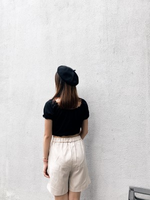 High-Waisted Casual Comfy Short